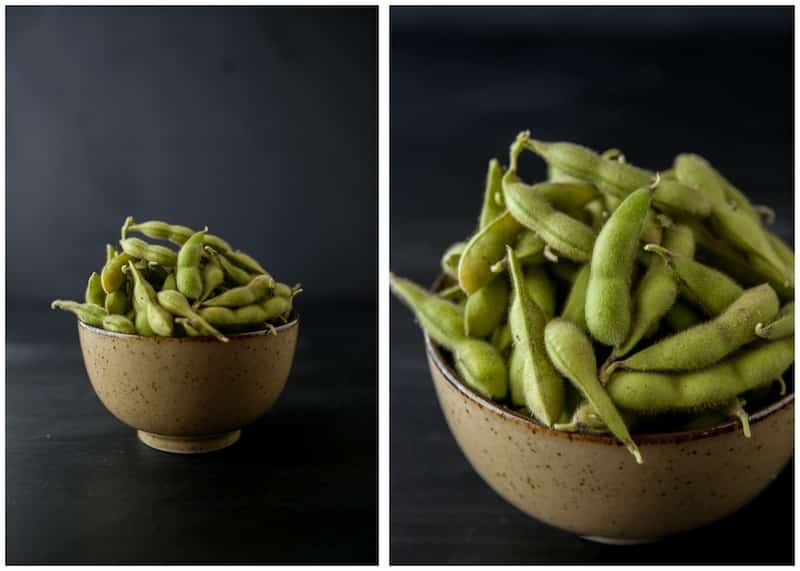 how to cook frozen edamame beans in microwave