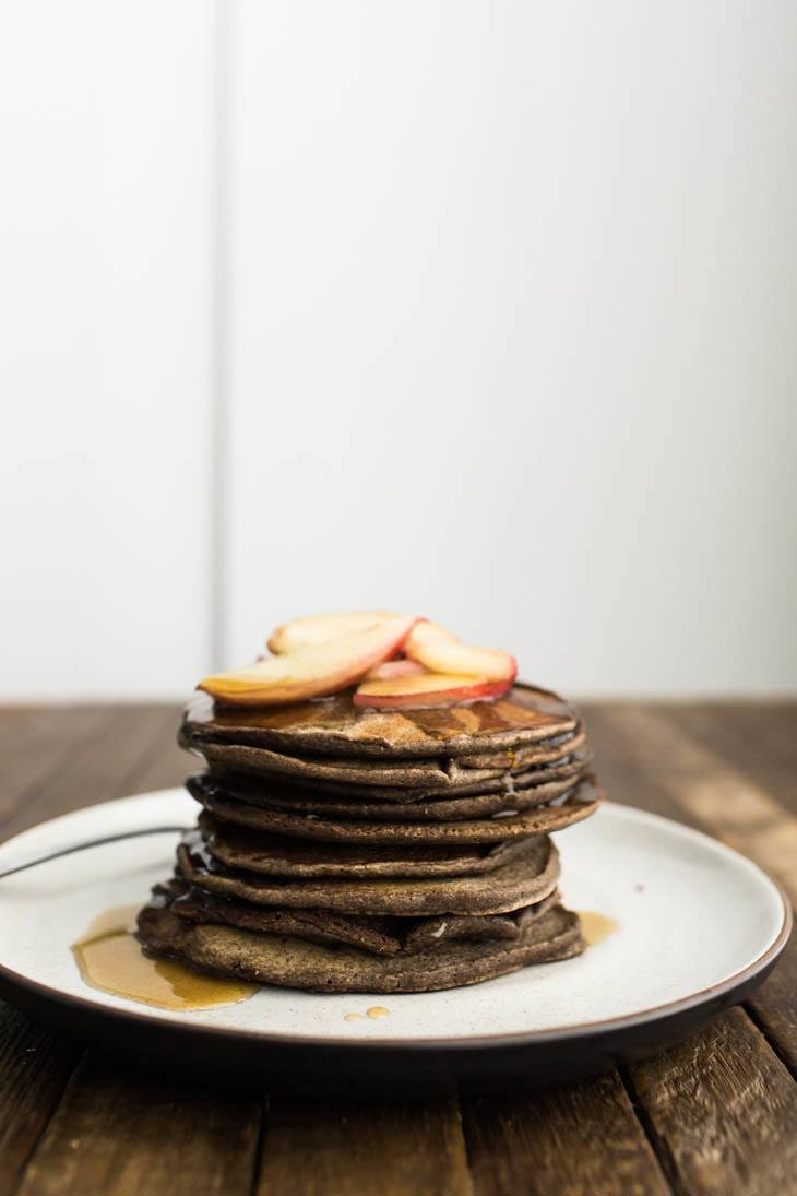 Buttermilk Buckwheat Pancakes Gluten Free Naturally Ella