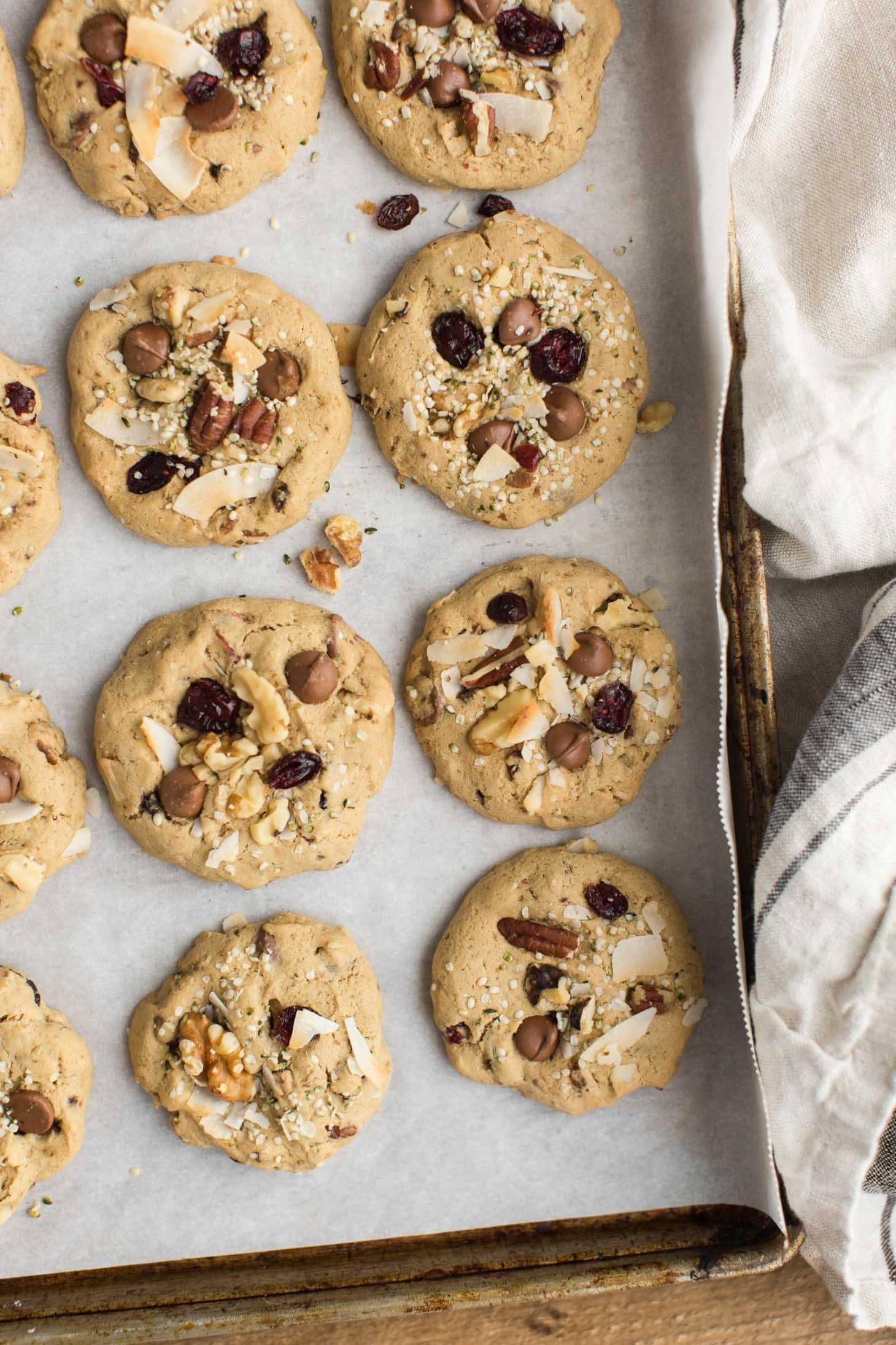 Gluten-Free Kitchen Sink Cookies with Chocolate Chips | Naturally Ella