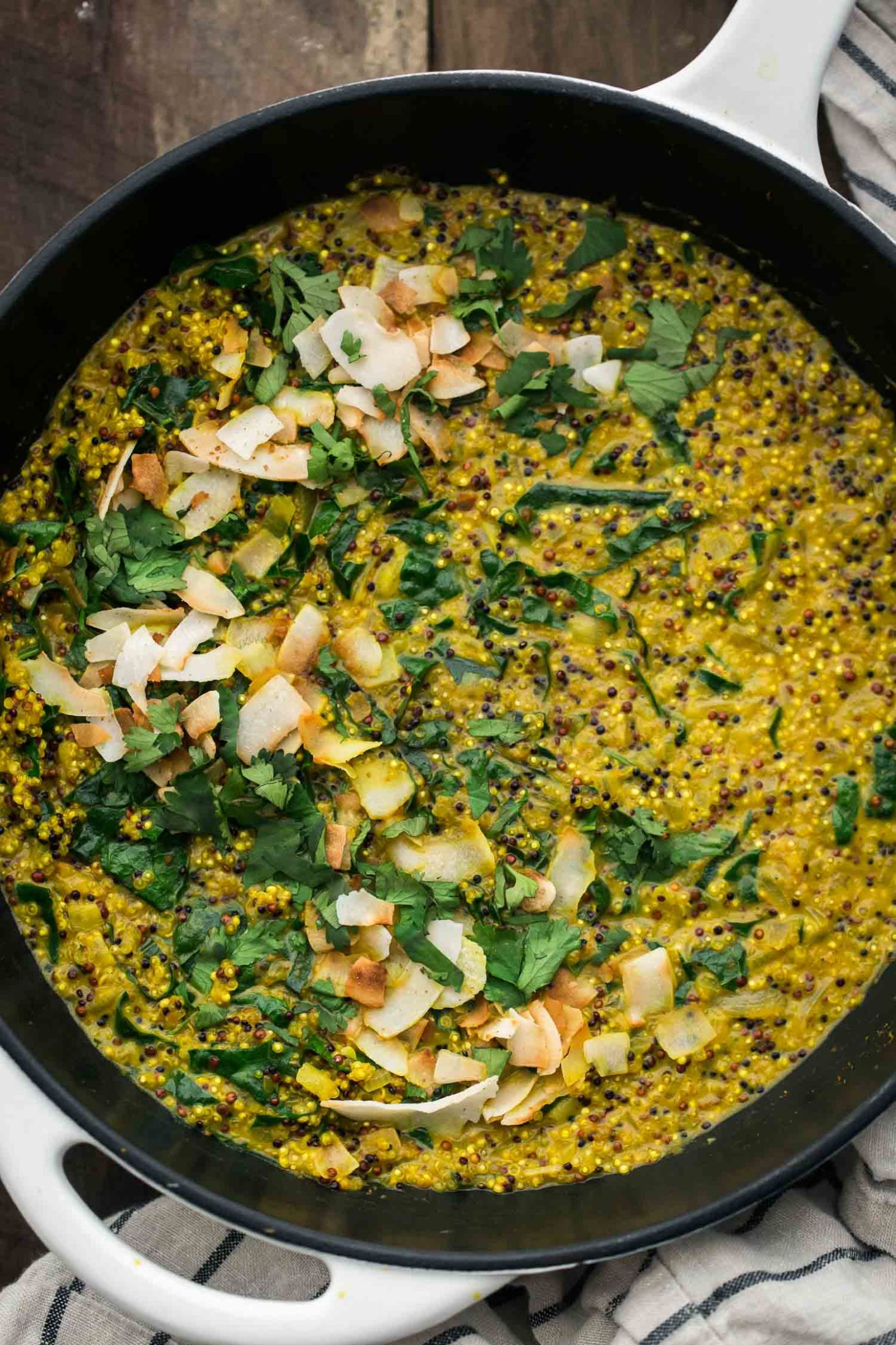 Coconut turmeric quinoa with kale naturally ella coconut turmeric quinoa naturally ella forumfinder Image collections